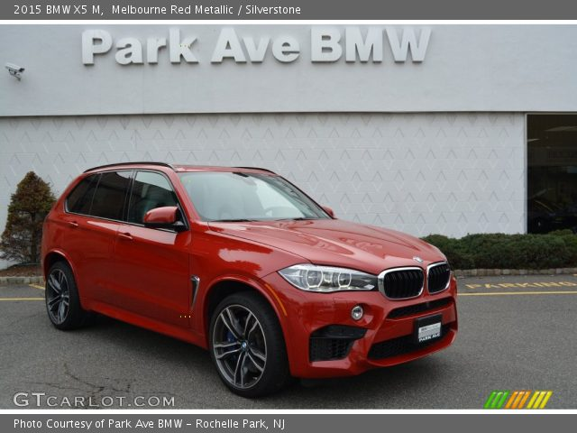 2015 BMW X5 M In Melbourne Red Metallic