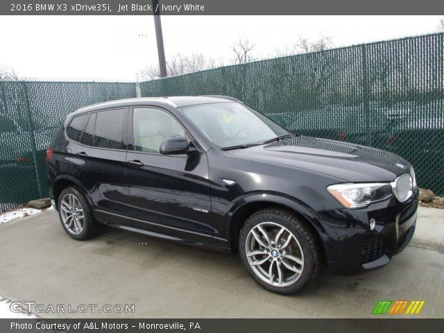 2016 BMW X3 XDrive35i In Jet Black