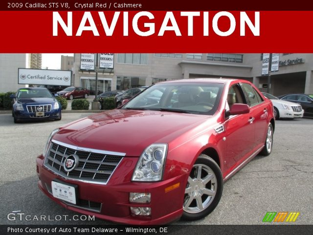2009 Cadillac STS V8 in Crystal Red