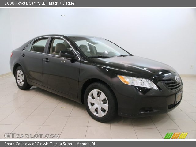black 2008 toyota camry le bisque interior vehicle archive 110524334. Black Bedroom Furniture Sets. Home Design Ideas