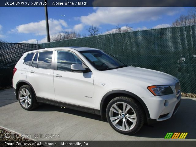 Alpine White 2014 Bmw X3 Xdrive35i Black Interior Vehicle Archive 110586601