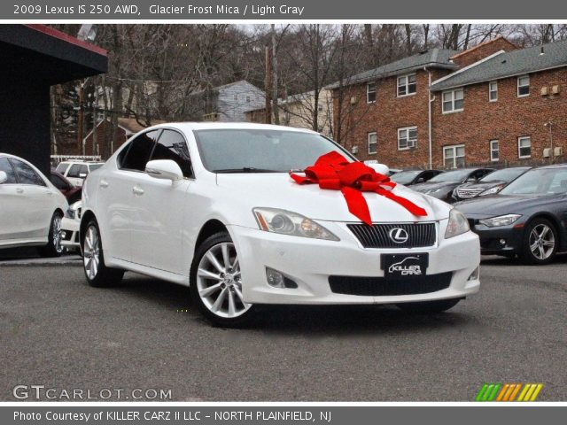 2009 Lexus IS 250 AWD in Glacier Frost Mica