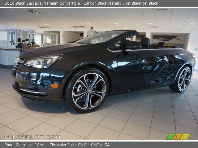 2016 Buick Cascada Premium Convertible in Carbon Black Metallic
