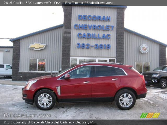 2016 Cadillac SRX Luxury AWD in Crystal Red Tincoat