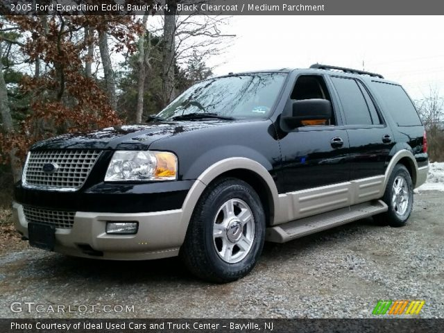 Black Clearcoat 2005 Ford Expedition Eddie Bauer 4x4 Medium Parchment Interior Gtcarlot