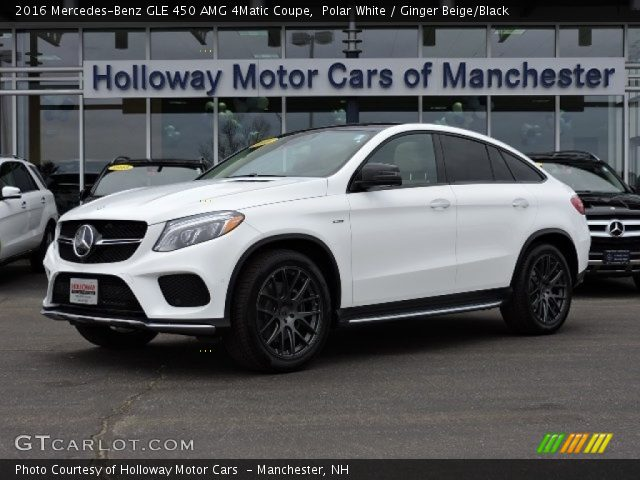 2016 Mercedes-Benz GLE 450 AMG 4Matic Coupe in Polar White
