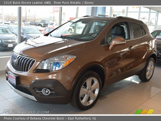 river rock metallic 2016 buick encore leather awd. Black Bedroom Furniture Sets. Home Design Ideas