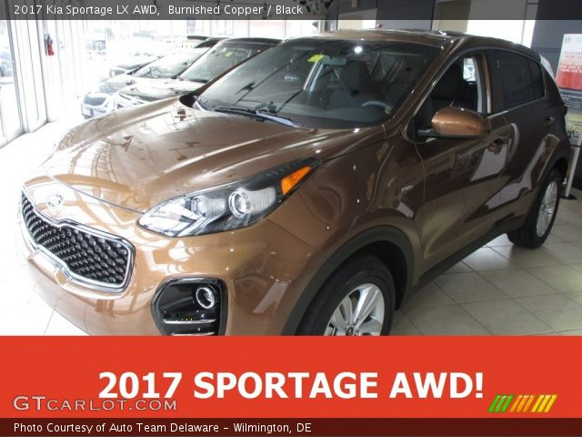 2017 Kia Sportage LX AWD in Burnished Copper