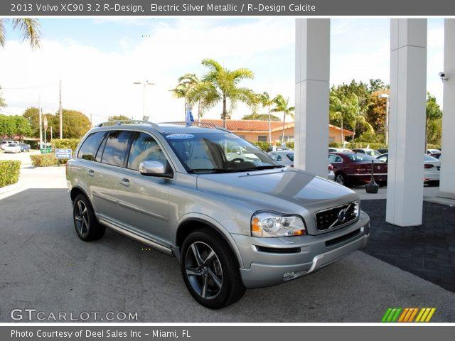 2013 Volvo XC90 3.2 R-Design in Electric Silver Metallic