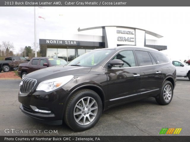 2013 Buick Enclave Leather AWD in Cyber Gray Metallic