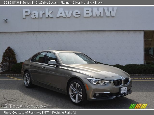 2016 BMW 3 Series 340i xDrive Sedan in Platinum Silver Metallic