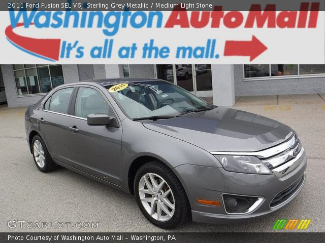 2011 Ford Fusion SEL V6 in Sterling Grey Metallic