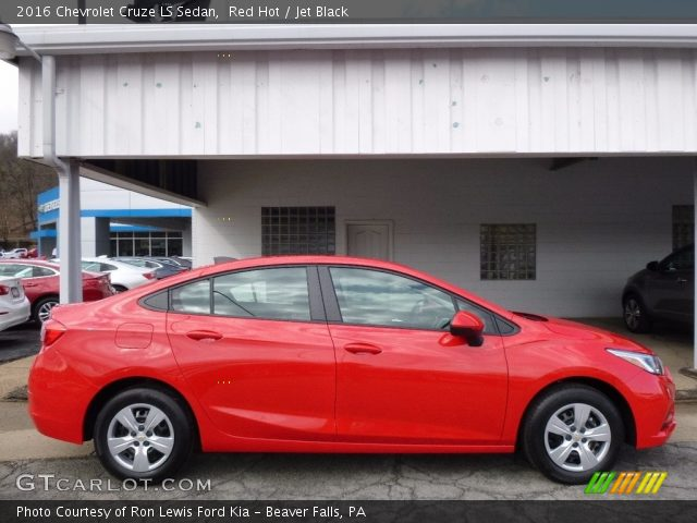 2016 Chevrolet Cruze LS Sedan in Red Hot