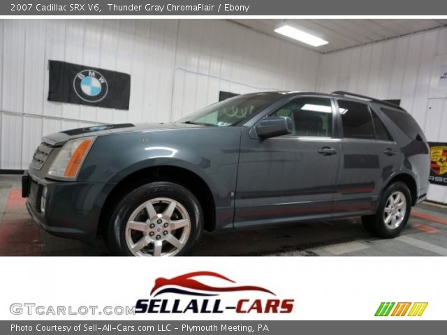 2007 Cadillac SRX V6 in Thunder Gray ChromaFlair
