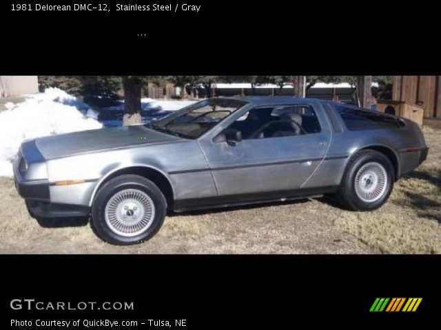 1981 Delorean DMC-12  in Stainless Steel