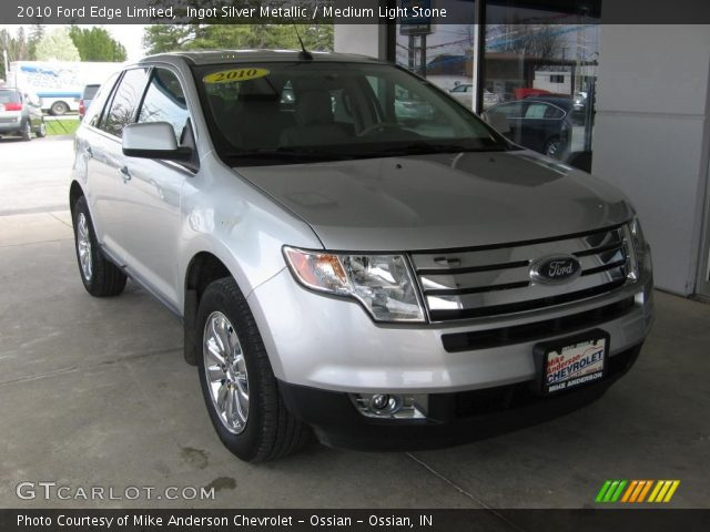 2010 Ford Edge Limited in Ingot Silver Metallic