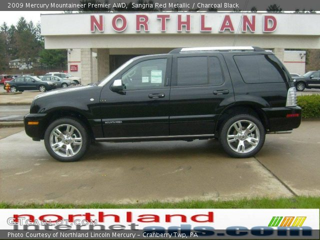 2009 Mercury Mountaineer Premier AWD in Sangria Red Metallic