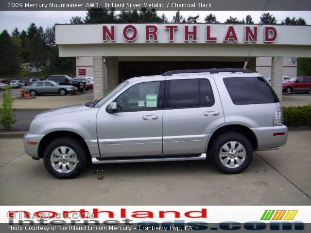 2009 Mercury Mountaineer AWD in Brilliant Silver Metallic