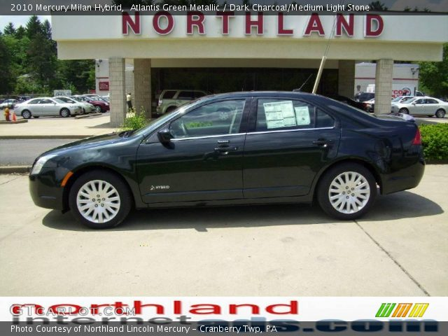 2010 Mercury Milan Hybrid in Atlantis Green Metallic
