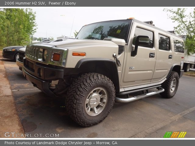 2006 Hummer H2 SUV in Pewter