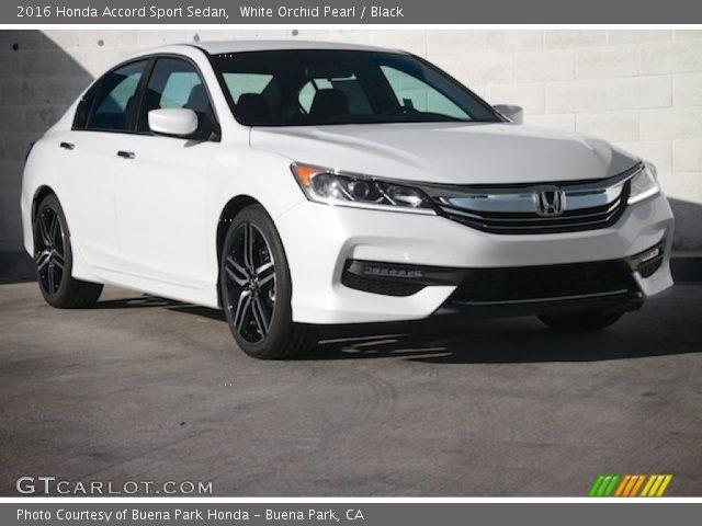White orchid pearl 2016 honda accord sport sedan black for Honda accord 2016 black