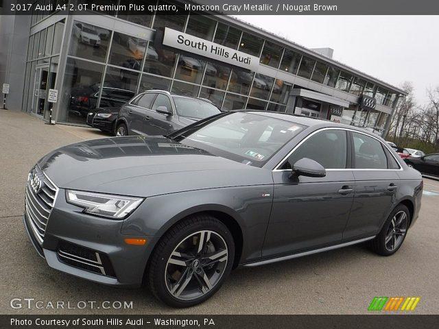 Monsoon Gray Metallic - 2017 Audi A4 2.0T Premium Plus ...