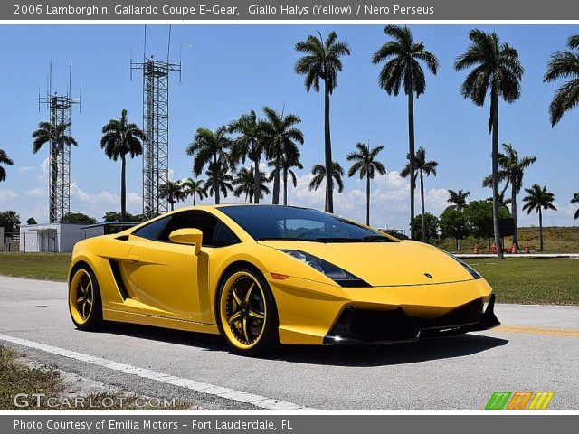 2006 Lamborghini Gallardo Coupe E-Gear in Giallo Halys (Yellow)