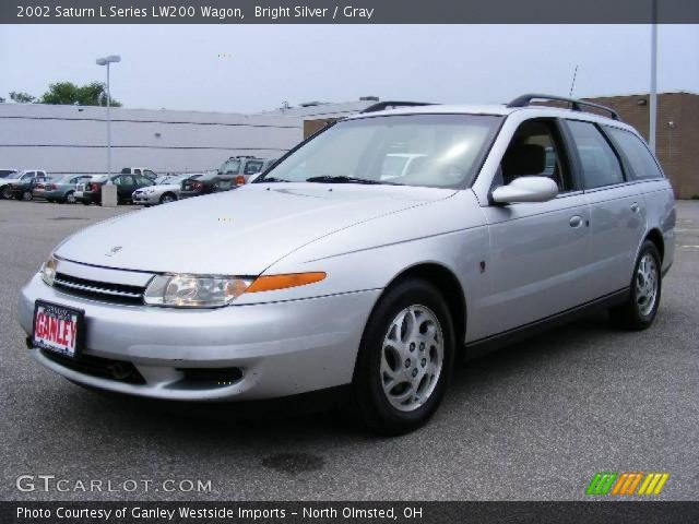 bright silver 2002 saturn l series lw200 wagon gray interior vehicle. Black Bedroom Furniture Sets. Home Design Ideas
