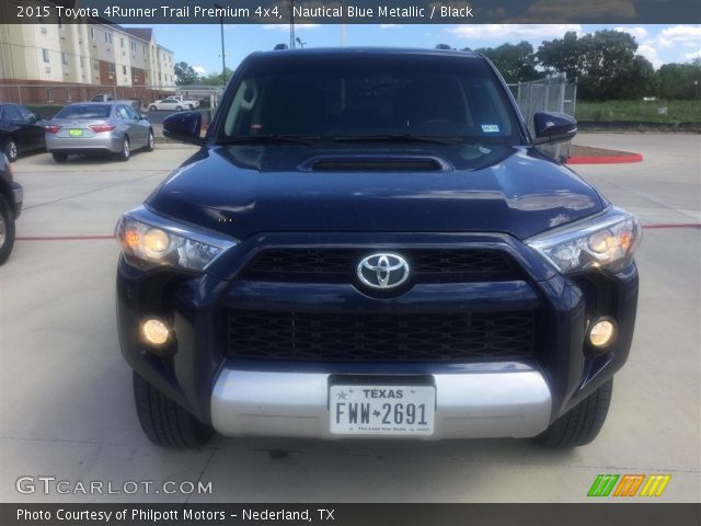 nautical blue metallic 2015 toyota 4runner trail premium 4x4 black interior. Black Bedroom Furniture Sets. Home Design Ideas