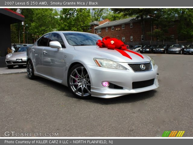 smoky granite mica 2007 lexus is 250 awd black interior vehicle archive. Black Bedroom Furniture Sets. Home Design Ideas