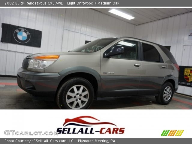 2002 Buick Rendezvous CXL AWD in Light Driftwood