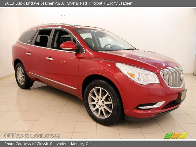 2013 Buick Enclave Leather AWD in Crystal Red Tintcoat