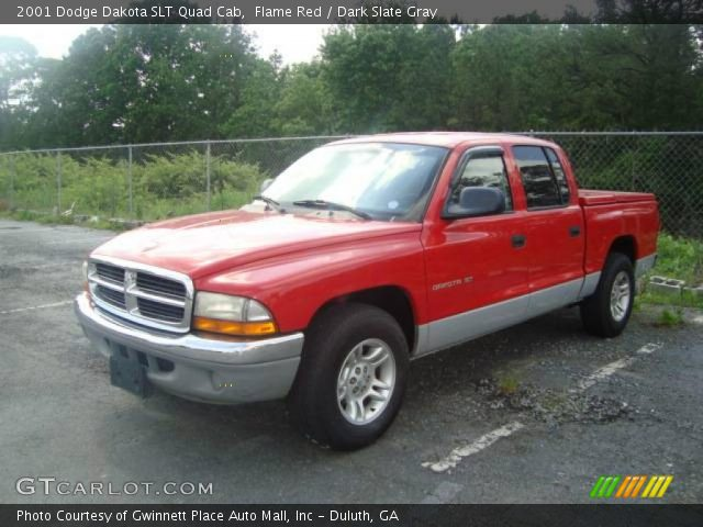 flame red 2001 dodge dakota slt quad cab dark slate. Black Bedroom Furniture Sets. Home Design Ideas