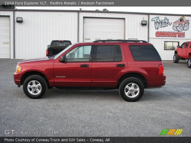 Redfire Metallic - 2004 Ford Explorer Xlt