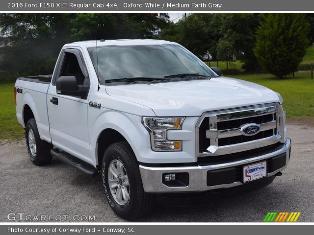 2016 Ford F150 XLT Regular Cab 4x4 in Oxford White
