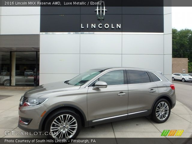 2016 Lincoln MKX Reserve AWD in Luxe Metallic