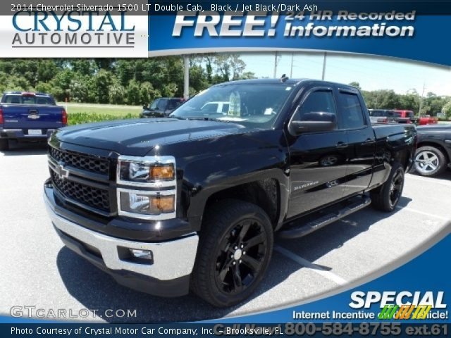 2014 Chevrolet Silverado 1500 LT Double Cab in Black