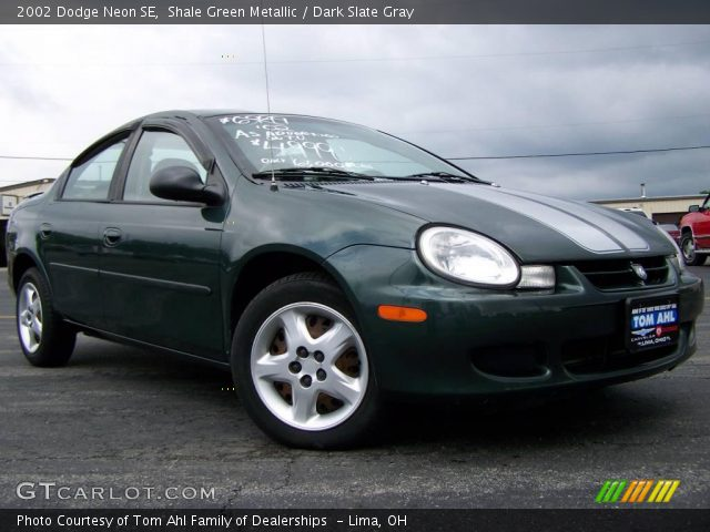 shale green metallic 2002 dodge neon se dark slate. Black Bedroom Furniture Sets. Home Design Ideas