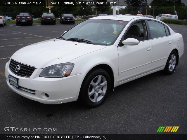 satin white pearl 2006 nissan altima 2 5 s special. Black Bedroom Furniture Sets. Home Design Ideas
