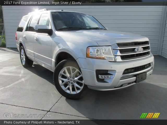 2017 Ford Expedition Limited In Ingot Silver