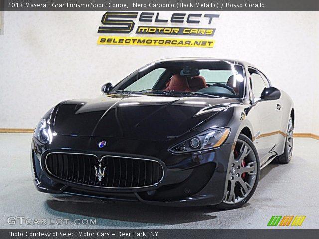 2013 Maserati GranTurismo Sport Coupe in Nero Carbonio (Black Metallic)