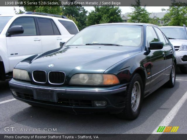 1998 BMW 5 Series 528i Sedan in Oxford Green Metallic