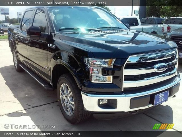 2016 Ford F150 Lariat SuperCrew 4x4 in Shadow Black