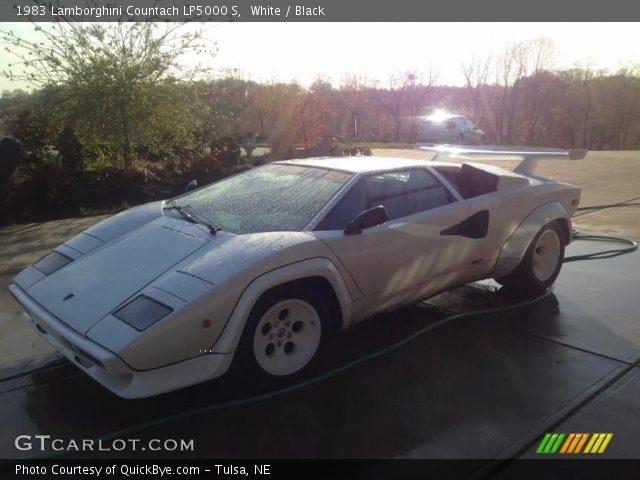 1983 Lamborghini Countach LP5000 S in White