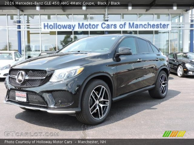 2016 Mercedes-Benz GLE 450 AMG 4Matic Coupe in Black