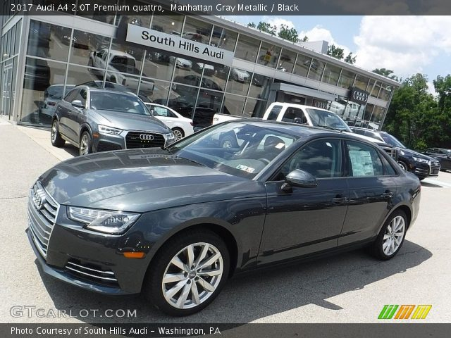Manhattan Gray Metallic Audi A T Premium Quattro Black - Audi of manhattan