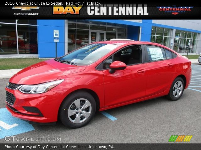2016 Chevrolet Cruze LS Sedan in Red Hot
