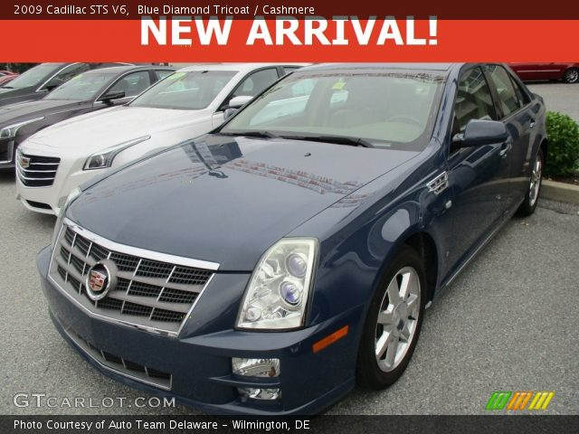 2009 Cadillac STS V6 in Blue Diamond Tricoat