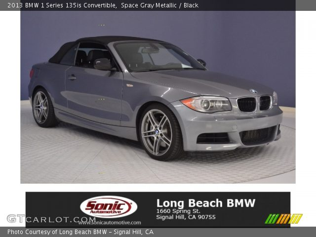 2013 BMW 1 Series 135is Convertible in Space Gray Metallic