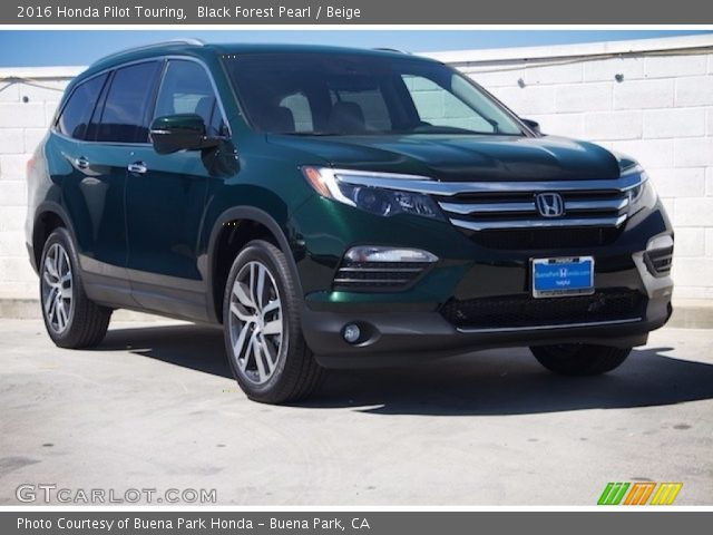 2016 Honda Pilot Touring in Black Forest Pearl